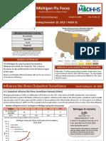 MDHHS Flu report