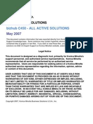 c450 Troubleshooting Guide | Proxy Server | Microsoft Windows