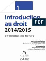 Introduction au droit 2015