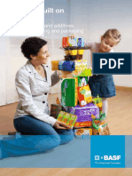 Benefits, built on each other. The BASF resins and additives portfolio for printing and packaging