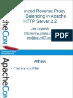 ACUS08-AdvancedLoadBalancing-Apache2.2