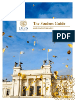 Student guide, Lund University