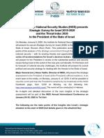 INSS Strategic Assessment 2020