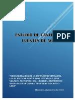 1. ESTUDIO DE CANTERAS