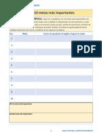 Proceso de Establecimiento Metas PDF