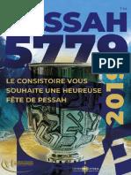 Guide de Pessah 2019