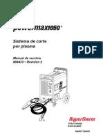 Powermax1650 Manual de servicio