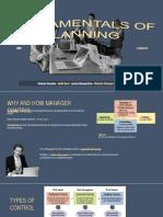 Fundamentals of Planning