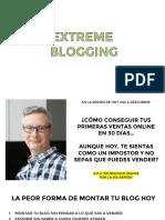 Blogging regalo-EB-PDF