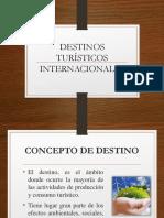 DESTINOS TURISTICOS 2019-1