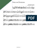 Firme nas Promessas - Trompete em Sib 1