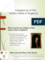 england nation state  king henry vii and viii