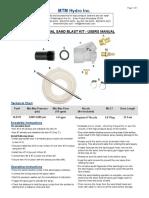 MTM Hydro Sand Blast Kit
