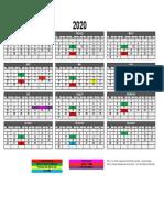 bhs 2020 calendar bhs 2020 calendar