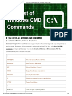 A To Z List Of All Windows CMD Commands – HELLPC