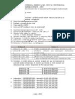 Exercicio - Enderecamento Ipv4-O023DE