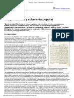 Página_12 __ El país __ Independencia y soberanía popular