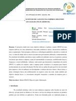ANALISE DE MATRIZ SWOT - EMPRESA 10ED1