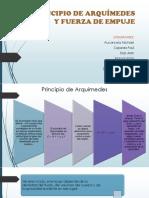 PRINCIPIO DE ARQUÍMEDES Y FUERZA DE EMPUJE - EXPOSICION CIENCIAS - 2019