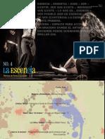 LA ESCENciA - Revista Digital de Artes Escénicas