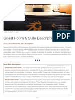 Gaylord National - Guest Room and Suite Layouts