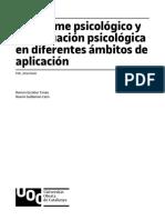 El informe psicológico y la evaluación psicológica en diferentes ámbitos de aplicación.pdf