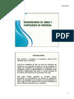 APUNTES GENERADORES DE OBRA Y CANTIDADES DE MATERIAL