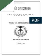20762. Teoría del derecho procesal - Cruz