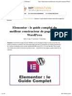 Elementor WordPress