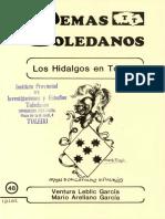files_temastoledanos_48. Los hidalgos en Toledo, por Ventura Leblic Garcia y Mario Arellano Garcia.pdf