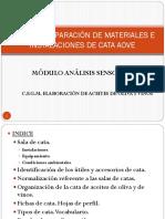 (A) TEMA 2 PREPARACIÓN DE MATERIALES E INSTALACIONES DE CATA