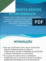 1- INSTRUMENTOS BÁSICOS DE ENFERMAGEM