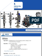 Delta Fluid Systems - Notable Completed Projects Sept 2018