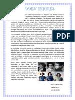 Hidden figures essay
