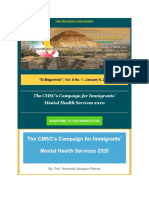 The California-Mexico Studies Center - The CMSC's Campaign for Immigrants'Mental Health Services 2020