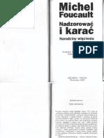 Foucault M. - Nadzorować i karać - fragment