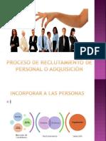 Tema 3 PROCESO DE RECLUTAMIENTO DE PERSONAL