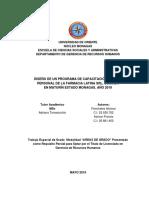 MirnaDISEÑO DE UN PROGRAMA DE CAPACITACIÓN PARA EL PERSONAL DE LA FARMACIA LATINA SRL, UBICADA  EN MATURÍN ESTADO MONAGAS
