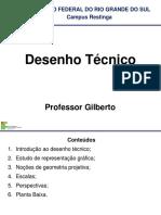 Desenho Tecnico - Aula 01