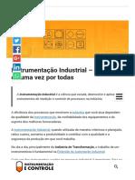 Instrumentação Industrial - Entenda de uma vez por todas