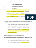 Research Findings - Dismissal of Employee (False Claims)