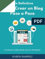 Como Crear un Blog Paso a Paso - LEER