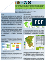 DETECTION OF LAND USE AND LAND COVER CHANGES USING REMOTE SENSING