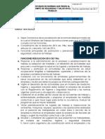 ACTA  Despues de conformación Comite SST - Socialización de normas   OLM