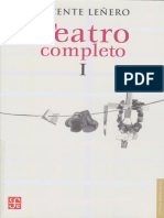 Lenero - Teatro completo I