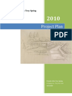 Friends of Troy Spring Project Plan