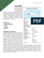 Gempa bumi Jawa 2017