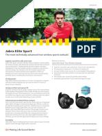 Jabra Elite Sport Datasheet