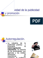normativa de la publicidad y promocion