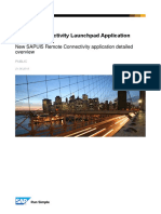 Remote Connectivity Launchpad Application documentation